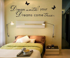 Home Wall Decoration Butterfly And Sentence Vinyl Wall Sticker Art  Removable
