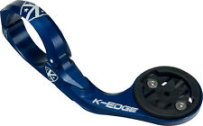 K-EDGE Garmin Handlebar Mount, 31.8mm, Blue