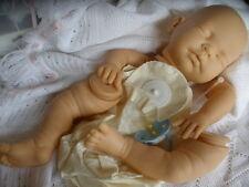"""Kit Muñeca Reborn Bebé """"Molly-Marie"""" cuerpo completo de las extremidades Discos +20in + Maniquí Azul"""