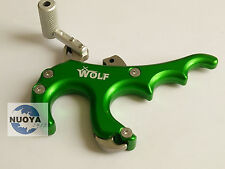 Green WOLF Stainless Steel Archery Arrow Accessories Caliper Release F bow Sport
