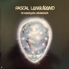 PASCAL LANGUIRAND 'DE HARMONIA UIVERSALIA' CANADA  IMPORT LP RARE/NEW CONDITION