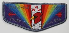 OA Lodge 350 Maka-Ina S12 Flap; RED WWW; BSA; [R2258]