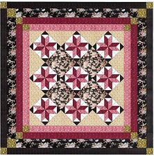 Ezy Quilt Kit/Sweet Roses and Lace Beautifu/Pre-cut Fabrics Ready To Sew