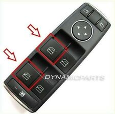 MERCEDES A B CLASS W245 W169 WINDOW CONTROL SWITCH BUTTON COVER LEFT (X1)