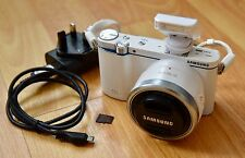 Samsung NX3300 20.3MP Digital Camera - White (Kit w/ 16-50mm F3.5-5.6 Lens)