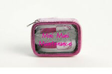 MIAMICA PINK NAIL KIT MINI MANI MANICURE FILE SET TRAVEL SIZE BAG CASE BOX TSA
