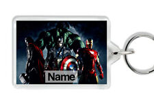 AVENGERS PERSONALISED BAG TAG KEYRING - Christmas Party Gifts