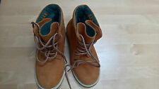 """Next Lace Up """"Timberland Style"""" Boots - Never Worn - Size 2 - Blue Lining"""