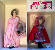 1983 Ltd. Ed. Grandma & Little Red Riding Hood Set by Suzanne Gibson, MIB!