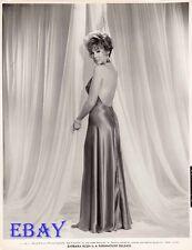Barbara Rush sexy shoulders Vintage Photo circa 1963