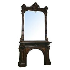 Victorian Mantel & Over Mirror  #5812