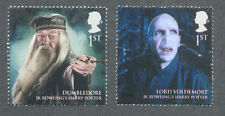 Great Britain-Harry Potter Dumbledore-Voldemort-mnh 2 values