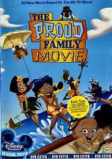 BRAND NEW FAMILY DVD // THE PROUD FAMILY MOVIE // DISNEY CHANNEL //  91 mIn