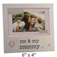 IO e la mia mamma in Alluminio Cornice Foto Regalo 6 x 4-by Juliana