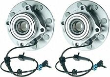 Hub Bearing for 2000 Chevrolet Silverado 2500 for 4WD/AWD Only-8 STUD-Front Pair