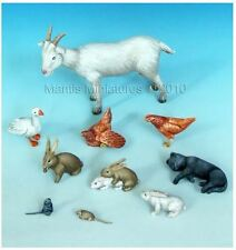 Mantis Mins 35024 Farm Animal set 6 1/35th Model unpainted kit