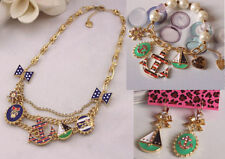 NEW Betsey Johnson Fashion navy anchor necklaces bracelets and earrings