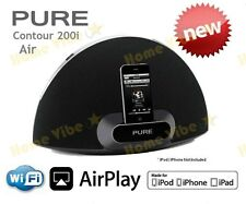 PURE CONTOUR 200i AIRPLAY WIRELESS SPEAKER DIGITAL INTERNET RADIO IPOD IPHONE