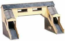 OO Building Card kit - Covered Footbridge - Superquick A09 - free post