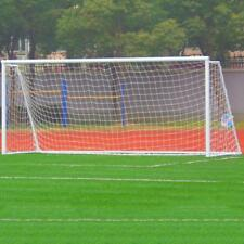 Football Soccer Goal Post Nets Sport Training Practice Outdoor Match 8 x 24