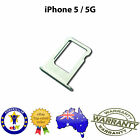 for iPhone 5 - Nano Sim Card Tray Slot Holder Replacement Part SILVER