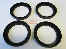ROVER P6 2000/2200/3500 REAR ROAD SPRINGS RUBBER PLATFORMS (SET OF 4)