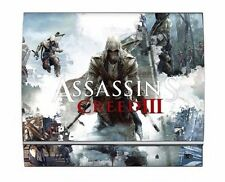 Assassin's Creed III 3 PS3 Limited Edition Game Skin for Sony Playstation 3