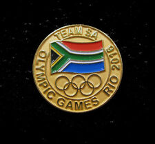 2016 SOUTH AFRICA RIO Olympic Games NOC Internal Team DELEGATION Rare pin
