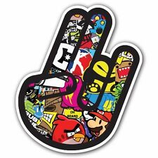 SHOCKER 2 SB2 Sticker Bomb Decal Car Macbook Laptop JDM Two in Pink One Stink