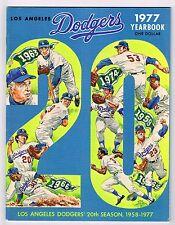 1977 Los Angeles Dodgers MLB Baseball YB YEARBOOK