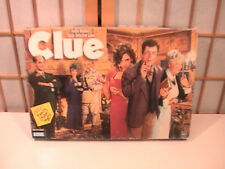 1998 CLUE Board Game Parker Brothers Classic Detective Game