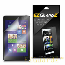 "2X EZguardz Screen Protector 2X For Dell Venue 8 Pro 8.1"" 5830 (Ultra Clear)"