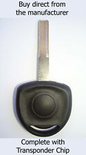 VAUXHALL Omega 1995 - 2006 SPARE KEY with Virgin ID40 Transponder Chip.
