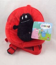 Barbapapa rouge et noir small back pack