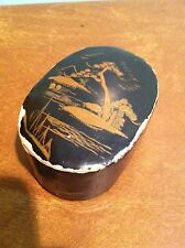 Antique Chinese Decorated Snuff Trinket Box