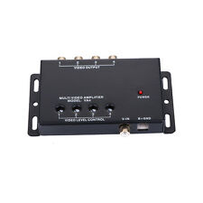 APS UNIVERSAL VIDEO MONITOR SIGNAL AMPLIFIER 1 to 4 DISTRIBUTION AMP VA4