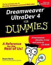 "Dreamweaver Ultradev ""X"" for Dummies by Stuart Harris (2001, Paperback)"