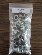 AN310-6 Castellated Nut 3/8 I.D. - Lot of 50 pieces