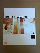 IAN MOORE Retail 2004 PROMO POSTER of Luminaria CD USA 21x22  MINT Never Display