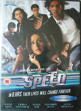 SPEED - NEW ORIGINAL EROS BOLLYWOOD DVD - Zayed Khan, Urmila Matondkar.