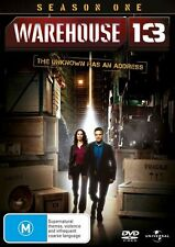 Warehouse 13 : Season 1 (DVD, 2011, 4-Disc Set) Used