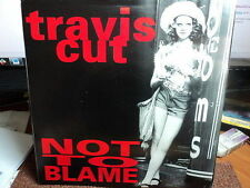 """Travis Cut """"Not To Blame"""" Rare JODIE FOSTER PS 7"""""""