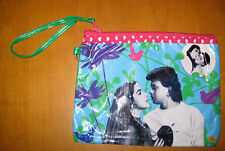 Kitschy Indian BOLLYWOOD Man Woman Vinyl Clutch Purse Bag Hindi Cinema Movies