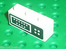 LEGO Brick 1 x 3 with Control Panel Pattern ref 3622p02 / Set 6393 Big Rig Truck