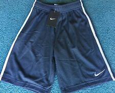 NWT Nike Boys Youth M Dark Gray/Light Gray Mesh Shorts Medium