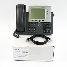 Cisco CP-7941G 7941 SIP VoIP IP Telephone Phone PoE - Quality Refurbished