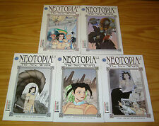 Neotopia vol. 4: the New World #1-5 VF/NM complete series - rod espinosa set lot