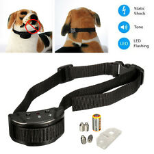 Anti Barks No Barking Tone Shock Vibration Dog Pet Control Training Collar NEW