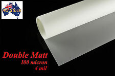 Mylar Stencil Film: Double Matt Drafting Film: Roll 3 Meters: 420mm Wide