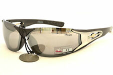 Indian Sunglass Motorcycle Biker Cycling Mirror Lens Wraparound IN2006 New Defec